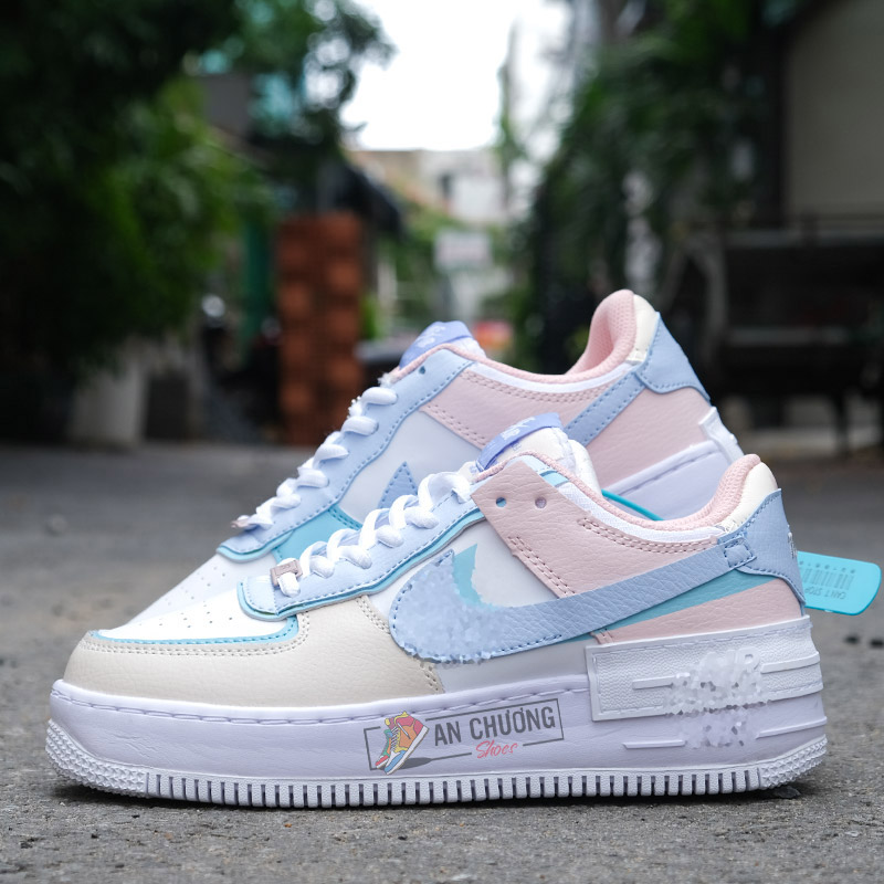 Giay Nike Air Force 1 Shadow Macaroon Candy Browse our nike air force 1 shadow collection for the very best in custom shoes, sneakers, apparel, and accessories by independent artists. an chÆ°Æ¡ng shoes