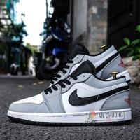 Giày Nike Jordan 1 Low Light Smoke Grey (Rep)